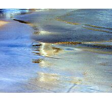 Abstract Glowing Seashore Photographic Print