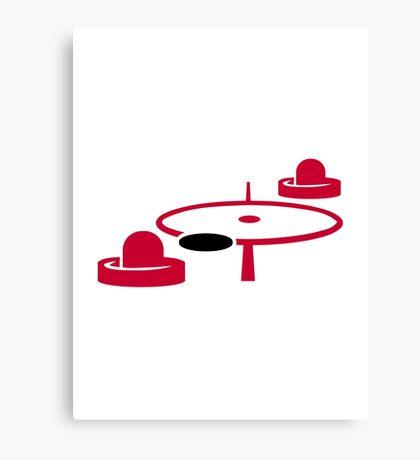 Air hockey Canvas Print