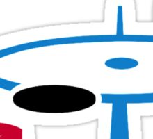 Air hockey Sticker