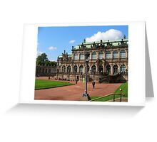 Dresden - Zwinger Greeting Card