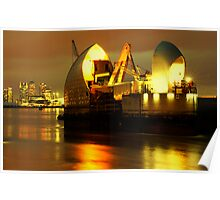 The Thames Barrier Poster