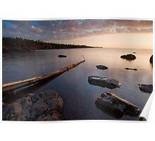 Gooseberry Falls State Park, Sunrise. Poster