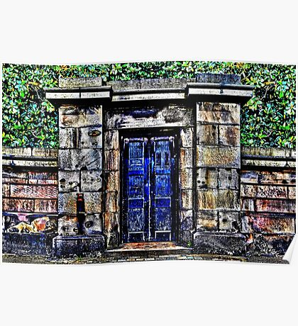 Old Gate Fine Art Print Poster