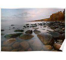Lake Superior Shores. Poster