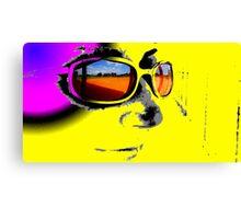 Field in Sunglasses Canvas Print