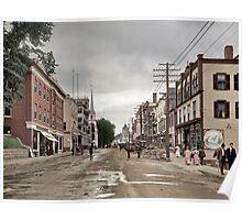 Main Street, Littleton, New Hampshire, Circa 1908 Poster