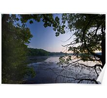 Little Falls Lake, Wisconsin. Poster