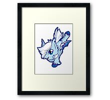 FrozenGale Chibi Framed Print