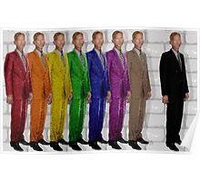 Rainbow Tall Man Poster