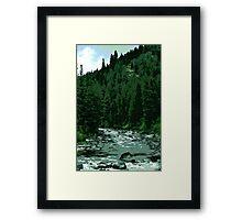 Payette River Framed Print