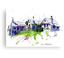 La Berarde, France Canvas Print
