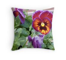 Almost Electric Throw Pillow