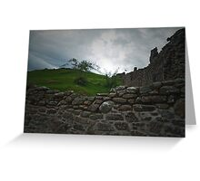 Urquhart Castle 2 Greeting Card