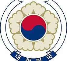 Emblem of South Korea  by abbeyz71