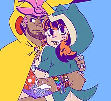 Pokecosplay - Pikachu x Snorlax by vbatignole