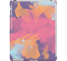 Pink Gold and Purple Abstract Pattern iPad Case/Skin