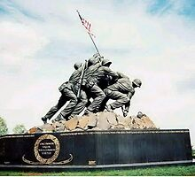 Iwo Jima National Monument by bigdaddy8x14