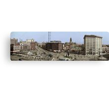 Campus Martius, Detroit 1907 Canvas Print