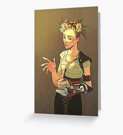 QUEEN FURIOSA Greeting Card