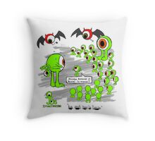 imaginary eyes: The Union Makes Us Strong Throw Pillow