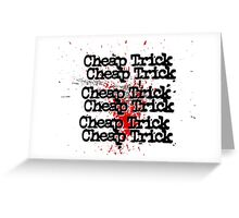 Cheap Trick Style Greeting Card