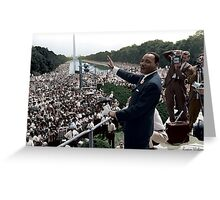 MLK's March On Washington, August 27, 1963 Greeting Card