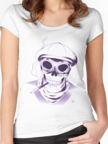 Everybody loses in the end Women's Fitted Scoop T-Shirt