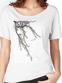 Ice on Branches Women's Relaxed Fit T-Shirt
