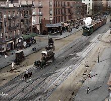 NYC 11th Ave circa 1909 by ryanurban
