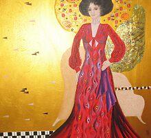 Homage to Klimt by Denise Martin