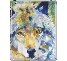 The Great Technicolor Wolf iPad Case/Skin