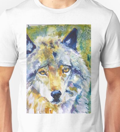 The Great Technicolor Wolf Unisex T-Shirt