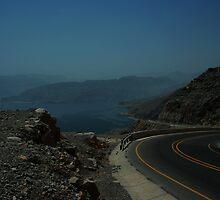 The Musandam Coast Road by C0balt