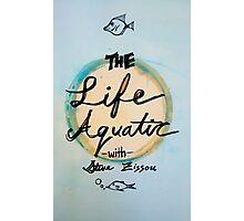 The Life Aquatic  Photographic Print