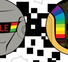 Daft Punk Emote Smile Sticker