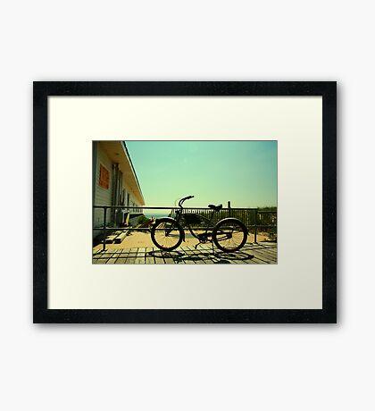 Beach Cruiser Framed Print