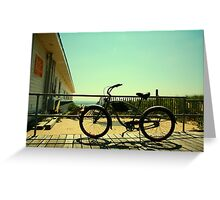 Beach Cruiser Greeting Card