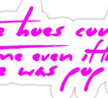 The Pinkprint: Only [Pop Quiz Lyric] Sticker