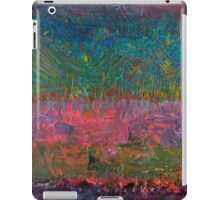 Abstract Landscape Series - Wildflowers iPad Case/Skin