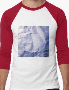 Blue Paper Men's Baseball ¾ T-Shirt