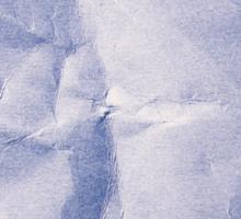 Blue Paper Sticker
