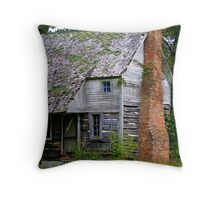 Old Log Cabin.... within your walls? Throw Pillow