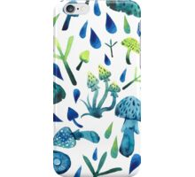 - Mushrooms pattern - iPhone Case/Skin