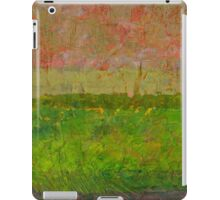 Abstract Landscape Series - Summer Fields iPad Case/Skin