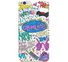 Clueless collage iPhone Case/Skin