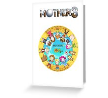 Mother 3 Chibis Greeting Card