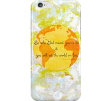 Set The World On Fire iPhone Case/Skin
