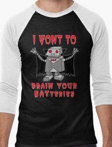 Robot Vampire Men's Baseball ¾ T-Shirt