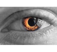 Eyes on Fire Photographic Print