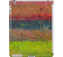 Abstract Landscape Series - Lake And Hills iPad Case/Skin